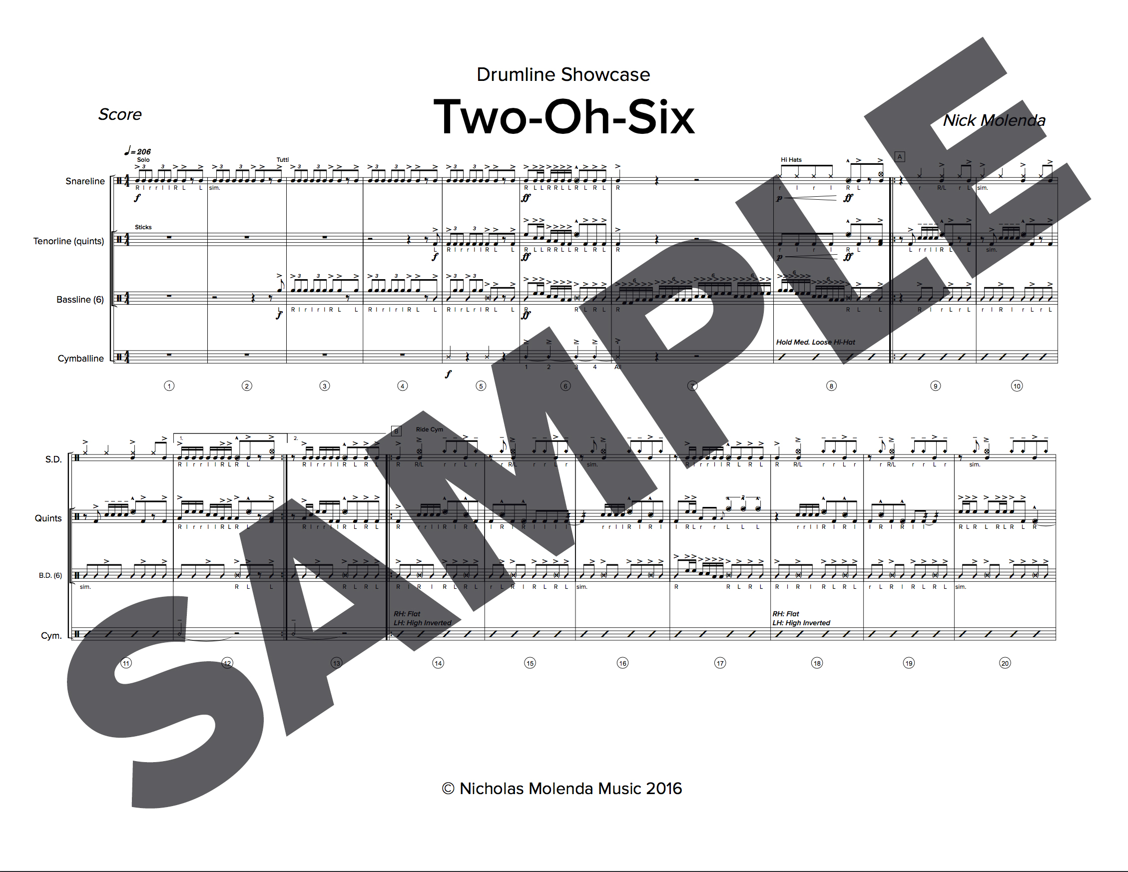 two-oh-six-sample